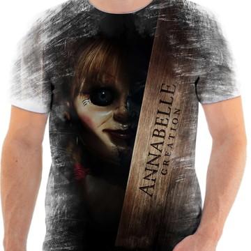 Camiseta Annabelle Filme de terror