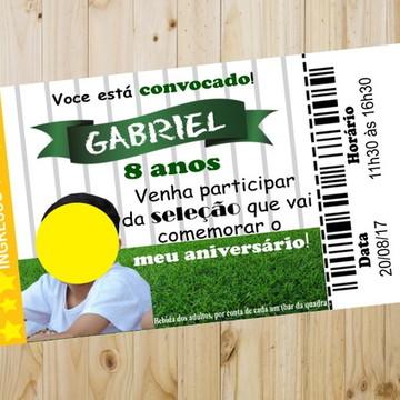 Ingresso VIP Convite Aniversário