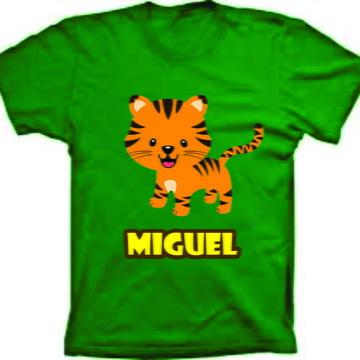 Camiseta Personalizada para Aniversario Safari