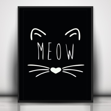 Poster Meow