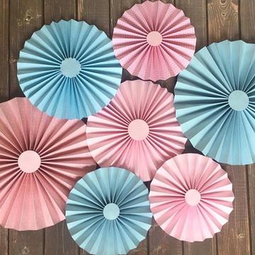 FIORATAS Leque Collezione Pink e Blue