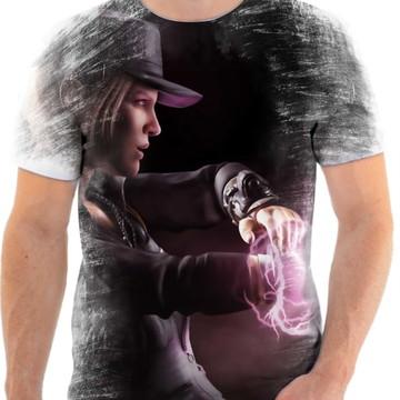 Camiseta Mortal Kombat Sonya