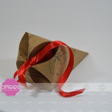 #0475 : Molde Caixa Cone trufado com amarras - Handa