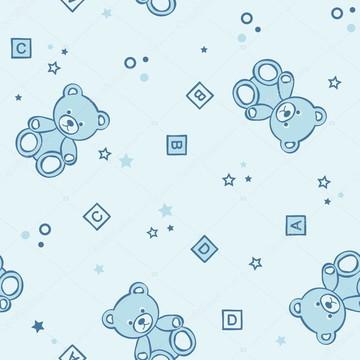 Papel de parede Urso Decor 47