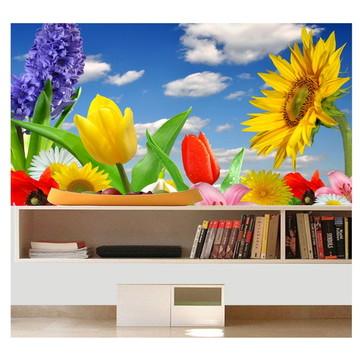 Adesivo Flores Flor Girassol P52
