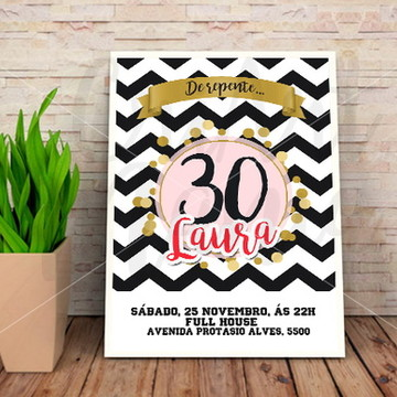 Convite 30 anos