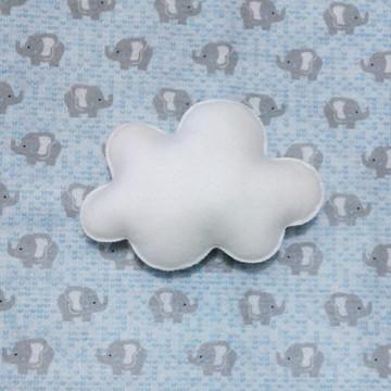 Nuvem feltro - P (14cm x 9,5cm)