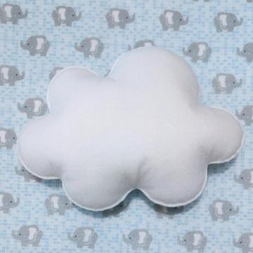 Nuvem feltro - M (20cm x 14cm)