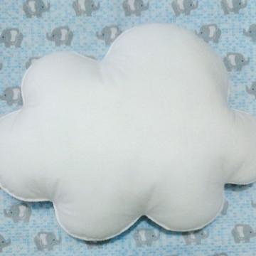 Nuvem feltro - G (27 cm x 19,5cm)