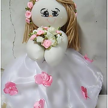 Boneca florista daminha