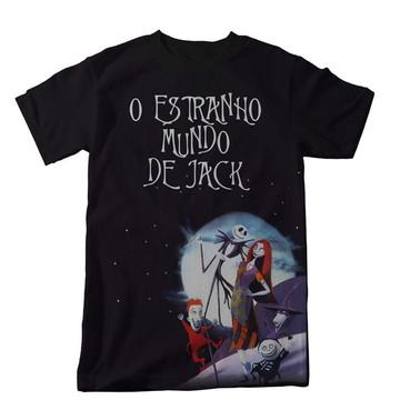 Camiseta Estranho Mundo de Jack - Adulto