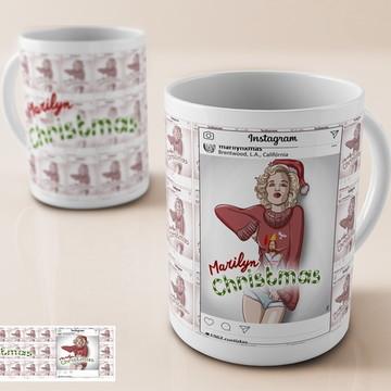 Caneca Merilin Christmas
