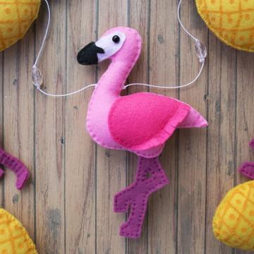 Flamingo e Abacaxi soltos