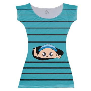 Vestido Adulto Bebê espiando