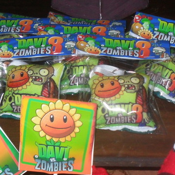 Chaveiro Plants vs Zombies