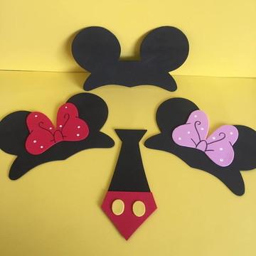 Tiara Orelha Mickey e Minnie EVA