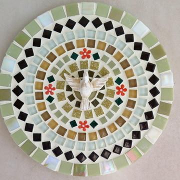 Mandala Divino Espírito Santo bege 20
