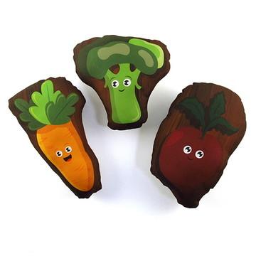 Kit Mini Almofadas Legumes B