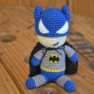 Batman em Crochê Amigurumi