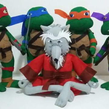 Tartarugas Ninja e Mestre Splinter