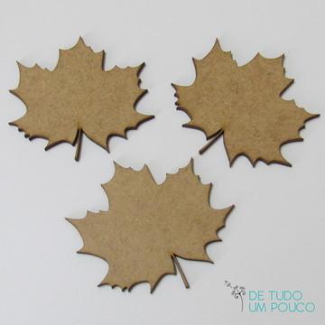 Folhas de Outono - Aplique em MDF
