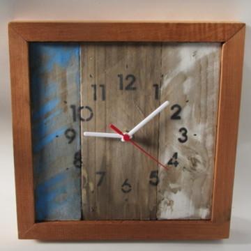 Relógio de parede vintage rústico