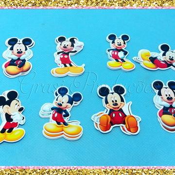 Apliques para tubetes Mickey mouse