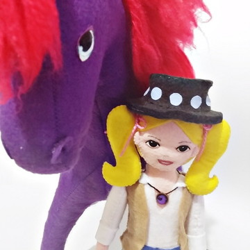 34c213fbea Cavalo de Fogo e Princesa Sara