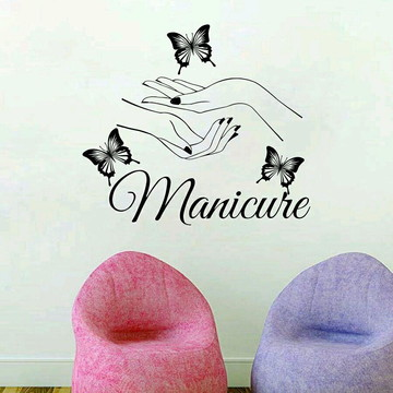 Adesivo Decorativo Manicure II