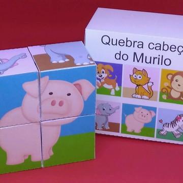 Caixinha Dia das Crianças Quebra Cabeça