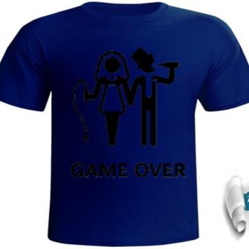 camiseta game over #026