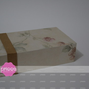 #0114 : Molde para Caixa 08 Doces com bordas em moldura