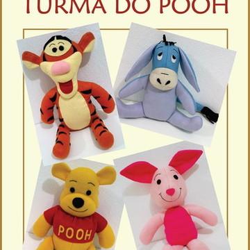 Molde Turma do Pooh