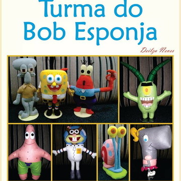 Moldes Turma do Bob Esponja