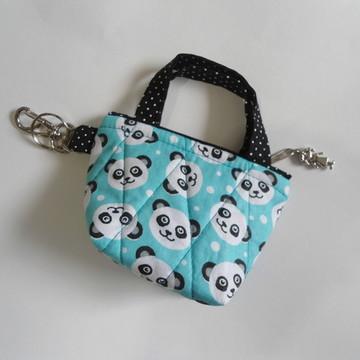 Cha131. Mini bolsa chaveiro