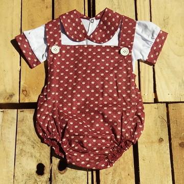 Macacão Body Bebê Princess Meninas