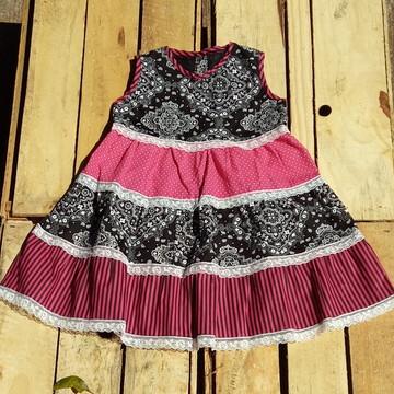 Vestido Bebê Menina Infantil !Peça Exclusiva!