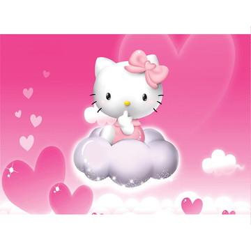 Painel Festa Helo Kitty - 1,20x0,65m