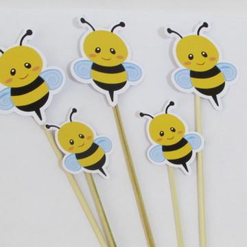 Topper grande para cachepot abelha