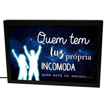 Luminária Prolab Gift Luz Própria - Preto