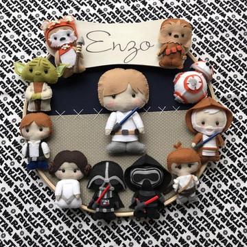 Quadro Maternidade Star Wars