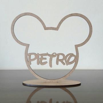 Kit 10 enfeite mesa Mickey