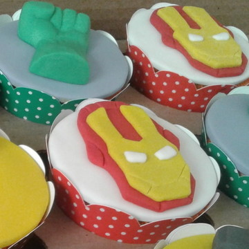 Cupcakes - Homem de Ferro