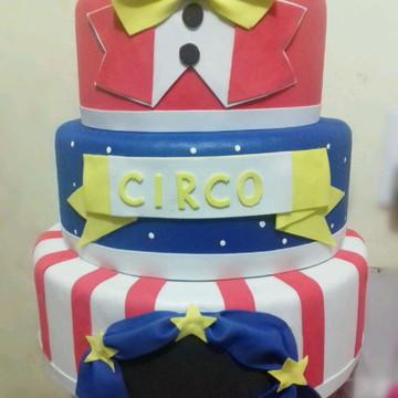 Bolo fake circo 2