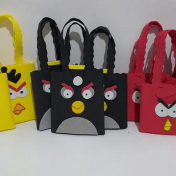 Sacolinha Angry Birds (EVA)