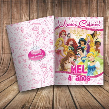 Revista Colorir Princesas