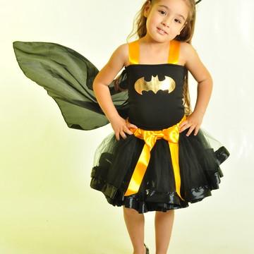 Fantasia Batgirl 6 e 8 anos