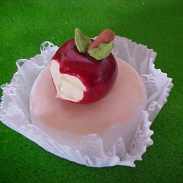 Doces gourmet frutinha pêssegos pera maç
