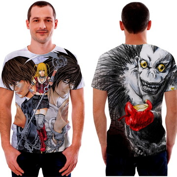 Camisa Camiseta Death Note