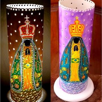 Luminária Nossa Senhora Aparecida- Mãe Rainha